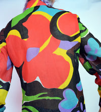 PSYCHEDELIC 60S BLOUSE