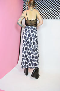 Y2K DIGITAL ROSE MAXI - M/L