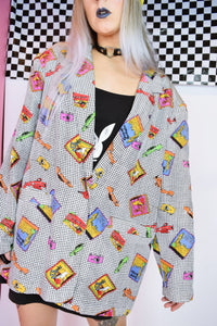 80s RAINBOW PASSPORT BLAZER