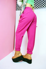 80s HOT PINK TROUSERS