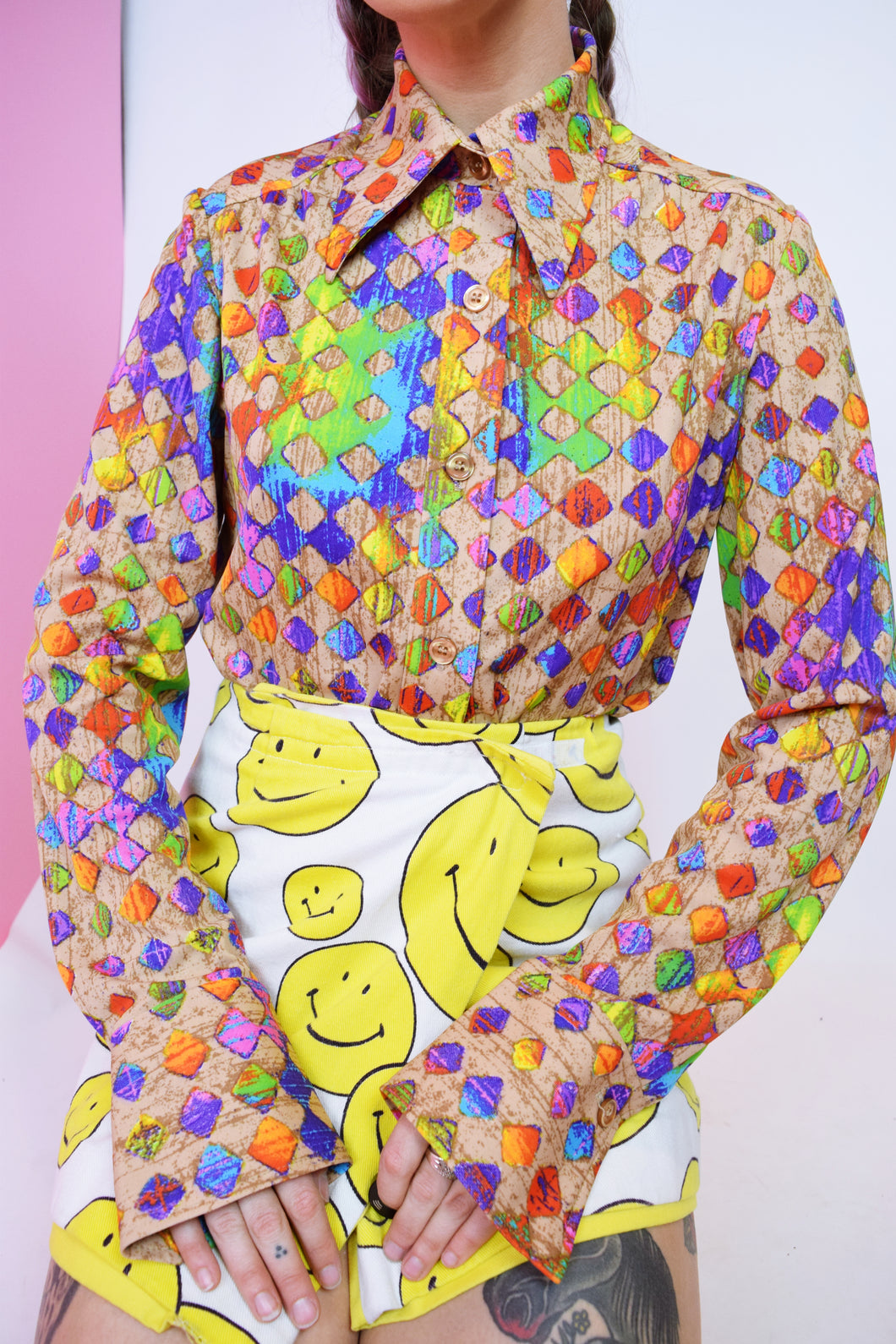 CANDY SNAKE BLOUSE