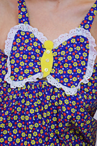 PRIMARY PRAIRIE BUTTERFLY DRESS - XS