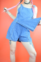90S ESPRIT DENIM SKORT MINI - S/M