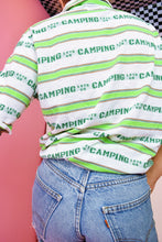 60s 'LETS GO CAMPING' BLOUSE