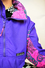 80s PURPLE GEO WINDBREAKER
