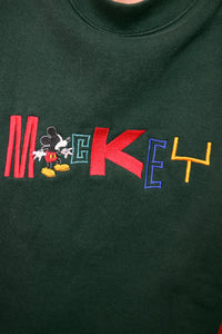 80s MICKEY CROPPED SWEATER