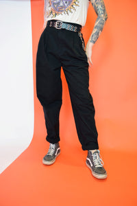 BLACK SK8 TROUSERS