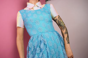 40S LACE BABYDOLL DRESS