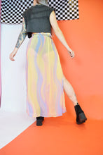 PASTEL PSYCHEDELIC SKIRT