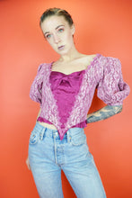 80s REWORKED PRINCESS POLLY TOP - SMALL