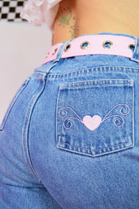 KWEEN OF HEARTS JEANS - 27""
