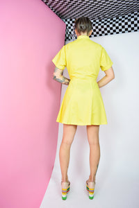 60S MOD YELLOW MINI