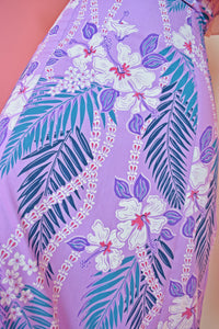 CHAQUITA TROPICAL MAXI DRESS - XS/S
