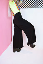 SPACE AGE SPLIT BELL BOTTOMS
