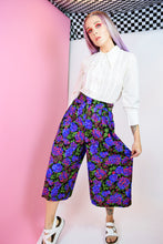 NEON FLORAL PALAZZO PANTS