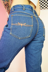 70S BRAXTON CROPPED JEANS