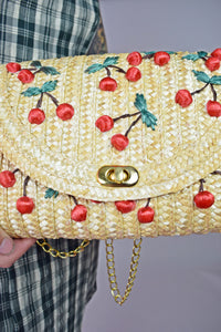 RETRO CHERRY PURSE