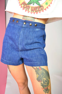 70S DENIM HOTPANTS