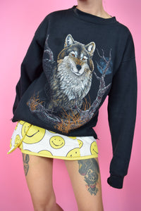 90S WOLF SWEATER