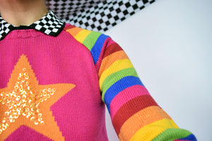 RAINBOW BRIGHT SWEATER