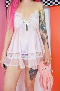 70s PASTEL ANGEL TEDDY