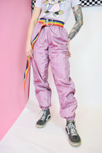 80s HOLOGRAPHIC JOGGERS