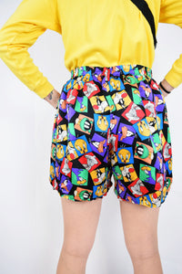 LOONEY TUNEZ SILK SHORTS - MEDIUM