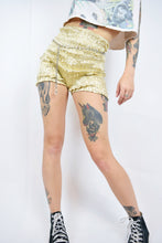 VTG GOLD DOLLY BLOOMERS - SMALL