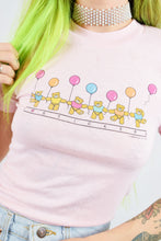 KAWAII KITSCH STICKER BABY TEE - XS/S