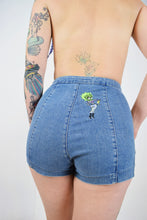 ALIEN BETTY DENIM KNICKERS - SMALL
