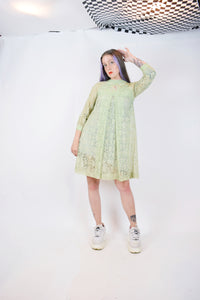 50s MINT GREEN MIDI - XS/SMALL