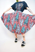 VTG ABSTRACT PATTERN MIDI - 24""