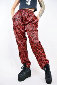 90s I LOVE PLAYBOY TROUSERS - S/M
