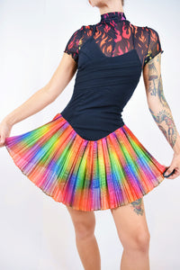 70s RAINBOW DISCO MINI - XS/S