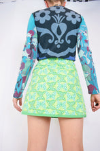 90s BUTTERFLY WRAP SKIRT - 26""