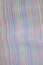 90s PASTEL RAINBOW STRIPED TROUSERS - 30""