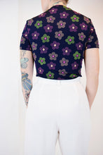 90s FLOWER TEE - SMALL