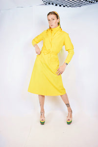 60s 2 PIECE YELLOW SET - SMALL