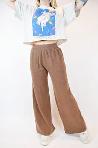 "COMPANIA FANTASTICA ""WOOL"" WIDE LEG TROUSERS - S/M"