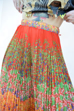 60s ACCORDION MAXI SKIRT - 24/25""