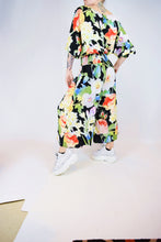 NU WAVE FLORAL JUMPSUIT - MEDIUM