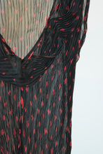 90s JEAN PAUL GAULTIER PLAYING CARDS BLOUSE - M/L