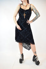 Y2K VAMPY MIDI DRESS - MEDIUM