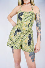 70s TROPICAL TIKI ROMPER - SMALL