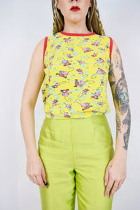 90s ROLLIE POLLIE NOVELTY TANK - XS/SMALL