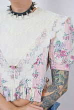 80s BABYDOLL BLOUSE - S/M