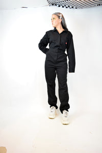 NWOT BLACK DICKIES JUMPSUIT - XL