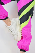 Y2K COLOR BLOCK JOGGERS - XS/S