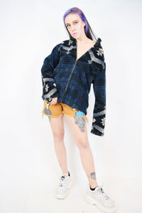 90s NAVAJO FLEECE - MEDIUM