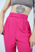 80S BARBIE PINK TROUSERS - 28""